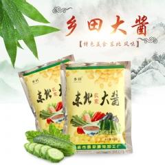 尚志特产 乡田大酱 东北 10袋装 100g*12