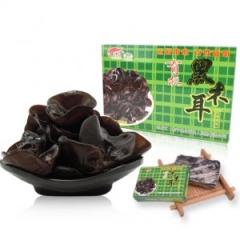 东北特产干货 黑龙江运福有机压缩黑木耳块200g/盒