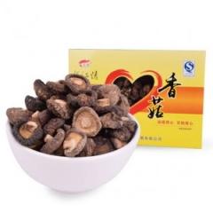运福椴木野生香菇188g礼盒装东北特产干货