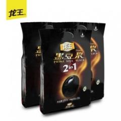 龙王黑豆浆450gx3无蔗糖原味非转基因纯黑豆豆浆粉 速溶豆奶粉