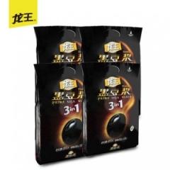【龙王豆浆】黑豆豆浆粉450gx4甜味 非转基因豆浆粉营养早餐豆粉