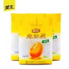 龙王豆浆 金豆浆480gx3袋 甜味速溶豆浆纯豆浆豆奶粉非转基因包邮