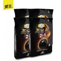 【龙王豆浆】黑豆豆浆粉450gx4无蔗糖添加豆浆粉速溶冲饮粉营养