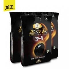 龙王豆浆甜味纯黑豆浆非转基因早餐速溶冲饮营养豆浆450gx3袋豆粉